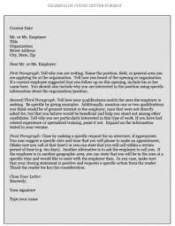 how to write cover letters cover letter position