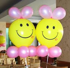 12 3 4g yellow smile with red lip print balloon latex materia