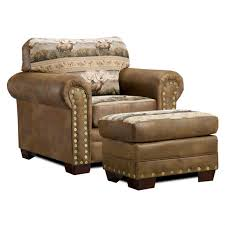 american furniture classics rocky mountain elk chair and ottoman