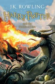harry potter and the goblet of fire new cover