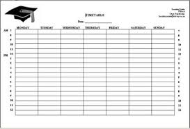 Time Management Activities Weekly Study Schedule Wikieducator