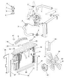 1998 jeep grand cherokee radiator related parts diagram 00i42211