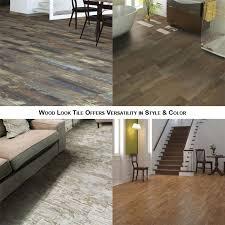 tile that looks like wood vs hardwood flooring
