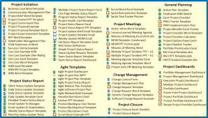 Simple Project Plan Template For Excel Example 6004