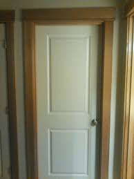 staining interior door does stained doors with white moldings work white door stained trim
