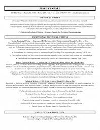 How To Write A Tech Resume 1 Technical Author Resume Sample .