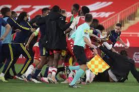 Ligue 1: AS Monaco verliert Skandal-Spiel gegen Olympique Lyon