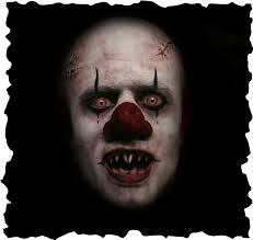 evil for my daughter creepy clown makeup png graphic free