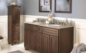 wolf dark bathroom cabinets