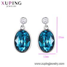 e 287 fashion jewelry whole crystals from swarovski hanging earrings