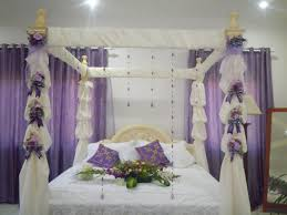 Wedding Bedroom Decorations Bedroom Decoration Flowers Com With Bridal Beautiful And Special