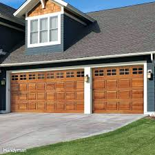 front door wont open from inside or outside garage door won t open manually medium size
