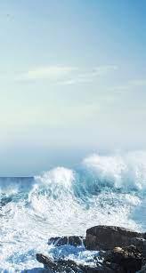 Ocean Light Blue Aesthetic Wallpapers ...