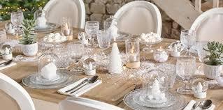 Craquez pour une déco de table tout en blanc pour Noël : Femme ...