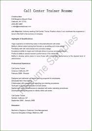 Call Center Resume Objective Beautiful Resume Samples Call