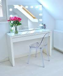 ikea makeup desk absolutely love my new makeup vanity absolutely no idea how i managed to