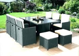 asda rattan furniture patio garden set club