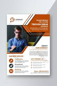 Creative Corporate Business Flyer Template Psd Free