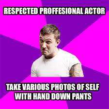 tom hardy meme | Tumblr via Relatably.com