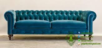 teal blue furniture. Sofa Chesterfield Warna Biru Muda Teal Blue Furniture