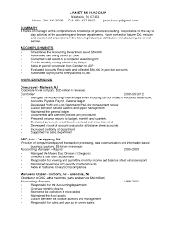 Resume Examples For Accounts Receivable Manager Valid Resume Sample