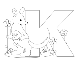 Alphabet Coloring Pages Preschool With Kindergarten Also Childrens