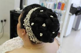 Wedding Bridal Hairstyle asian bridal hairstyle shumailas 4068 by stevesalt.us