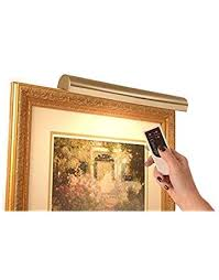Picture frame light Wood Cordless Picture Light Remote Controlcolorpolished Brass 18 Aliexpresscom Picture Display Lighting Amazoncom