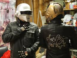 how to clean leather coat mold inspirational daft punk helmets and plete costumes without using a