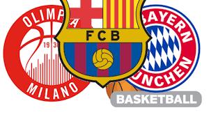 Tabellone Eurolega 2020-21: AX Armani Milano - Bayern nei playoff