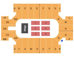 Cross Center Seating Chart Cumberland County Civic Center Tickets And Cumberland County