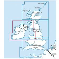 Ireland Rogers Data Vfr Aeronautical Chart 500k 2019 Crewlounge Shop By Flyinsite