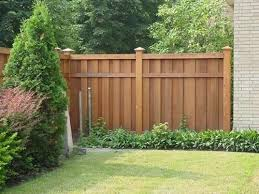 6 ft cedar privacy fence with cap