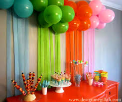 terrific birthday party decorations in home 18 on home design