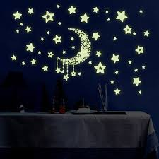 Luminous Wall Sticker Home Decor Glow In The Dark Star Decal Baby ...