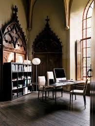 19 amazing gothic home office design ideas gothic brown walls