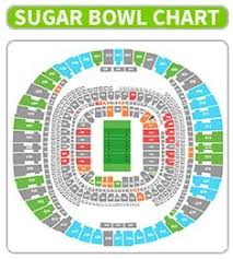 Sugar Bowl Seating Chart 37 Unique Superdome Seat Chart