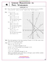 ncert solutions for class 9 maths chapter 4 linear equations in pdf