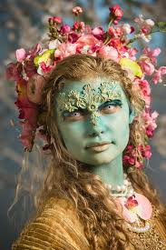 season life close up of keaghlan s makeup with the igned theme of life creative muse i am in love with face off