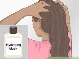 image titled do a hair mask for split ends step 1