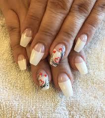 Nail Designs : White Tip Nail Art Natural and non Natural Looking ...