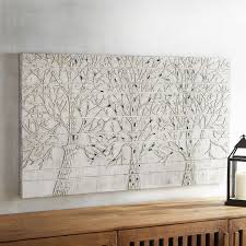 mosaic wall decor: images shimmering trees mosaic wall decor