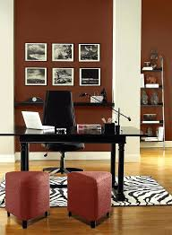 office wall paint ideas. Best Wall Color For Home Office Energizing Red Walls  Rock Columns Paint Ideas