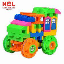 Đồ chơi xếp hình trẻ em Nhựa Chợ Lớn 02 - M968-LR