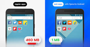 Save Space On Your Android Phone With Web Apps