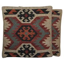 oriental throw pillows. Wonderful Pillows Handmade Herat Oriental Indo Kilim 20u0027u0027 Throw Pillows Set Of Two  Free  Shipping Today Overstock 25916911 Intended G