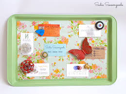 How To Make A Magnetic Memo Board Magnetic Memo Board from an Upcycled Repurposed Cookie Sheet 18