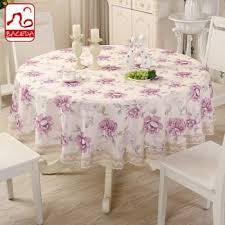 senarai harga baceda 180cm 220cm super size home fabric table cloth hotel round table cloth