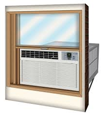 air conditioning window kit. air conditioner with a window kit, it s important that you account for at least three to four inches the accordians fit into space between conditioning kit