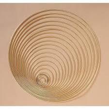 Metal Ring - Gold - 8 inch